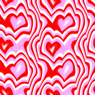 A hearts texture that tiles seamlessly as a pattern