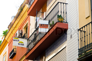 In Spain, vacant apartments are rented Real estate crash