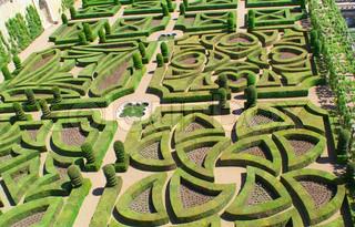 Garden in Villandry, France