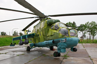 Russian soviet war army helicopter