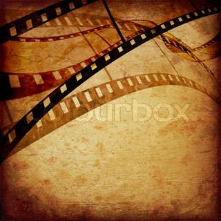 abstrakt komposition af filmen rammer eller filmstrimlen