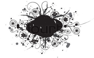 Grunge element for design, vector illustration