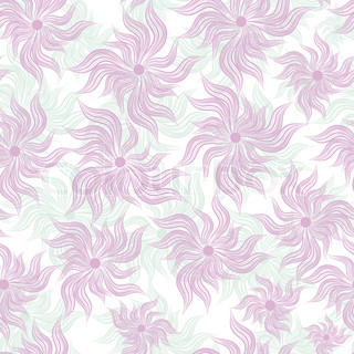 Cute, filigree wallpaper with flourishes