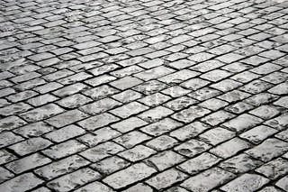 Closeup of block pavement (as a background)