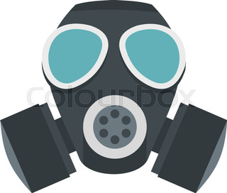 gas mask icon cartoon stock vector colourbox rh colourbox com cartoon character with gas mask cartoon gas mask ww2