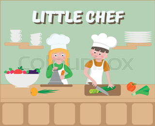 Kids cooking class certificate design template with junior chef little chef poster children cook yelopaper Images