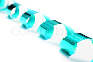 packaging band isolated on white