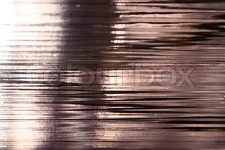 Wavy reflective glass surface texture