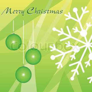 merry christmas - green christmas theme