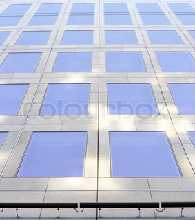 Wall of office building, may be used as background