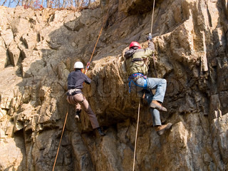 mountain climbing competition