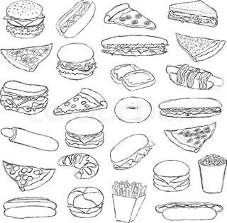 Grafiken von 'icon, handzeichnung, brötchen'