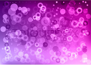 purple abstract background with circles