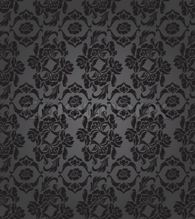 Floral pattern, background seamless, vector