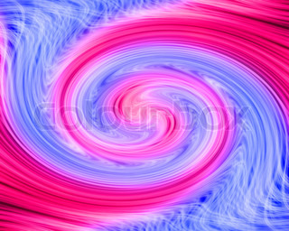 Abstract swirled backgroung in blue, pink and white colors