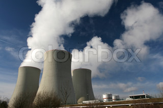 Power plant - cooling towers