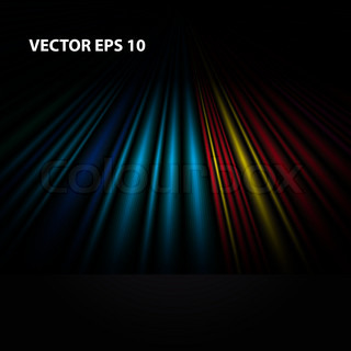 Abstract colorful wallpaper Vector
