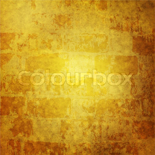 Dark yellow grunge wallpaper with with space for the text