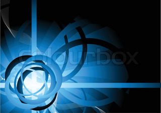 Vector background with circle clip-art