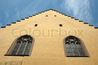 Old Regensburg gothic architecture,medieval city center - Unesco heritage site