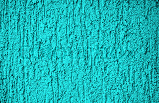 The background - Turquoise structured plaster