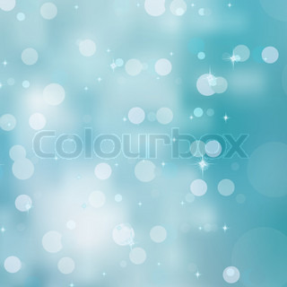 Background blue bokeh circles. EPS 8 vector file included