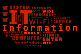 cloud of words: Information