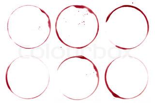 Vin samling - pletter og pletter