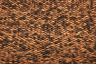 Abstract texture tiled roof