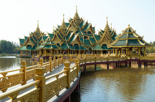 Old Buddhism temples in Thailand
