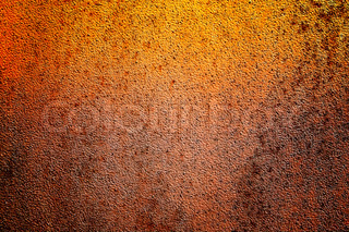 Abandoned metallic brown wall like as background