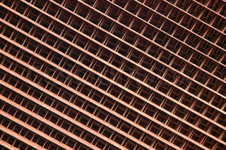 A background - the rusty metal grate