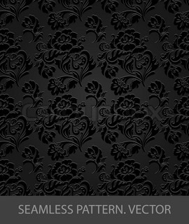 Seamless  pattern, decorative  background, ornament  floral