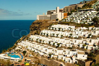 Some of the beautifully arranged hotels in Puerto Rico, Gran Canaria
