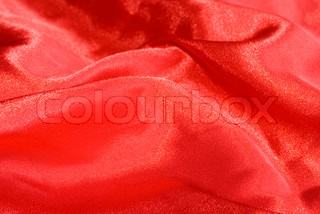 Red satin texture (as a background)