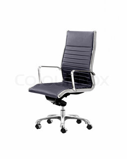 Office Chair Isolated On A White Background Stock Photo
