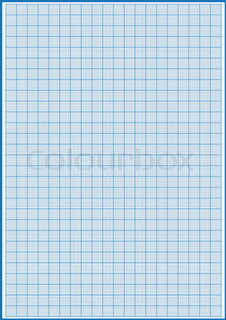 image of graph paper 1mm square a4 size vector stock vector