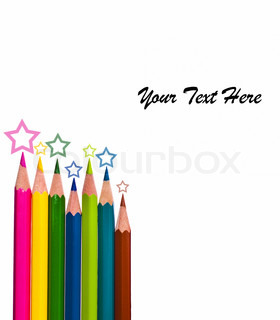 best colour pencils with stars