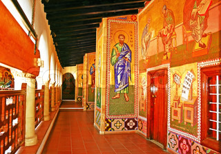 The Holy Monastery of the Virgin of Kykkos in Troodos mountains, Cyprus