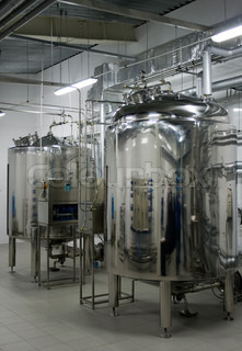 Automatic water filtration system in a pharmaceutical factory