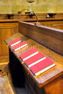 Bibles in choir chapel