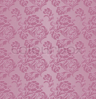 Pattern seamless, decorative background, ornament floral
