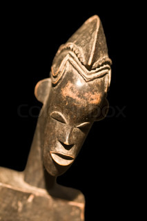 African statue (Central African collection)