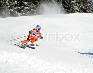 ELM - JANUARY 25: Swiss National Junior Championship on January 25, 2009 in Elm, Switzerland