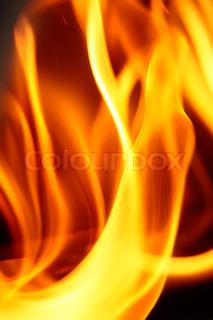 Image of 'fire, fireplace, orange'