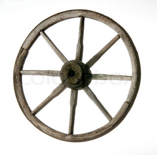 Wheel of the old time cart stock photo colourbox old wheel publicscrutiny Choice Image