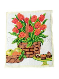 Design elemente mit flora und ma werk stock foto colourbox for Design von zierpflanzen