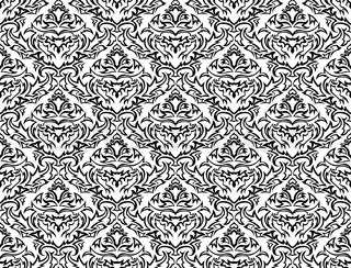 Damask seamless vector patternFor easy making seamless pattern just drag all group into swatches bar, and use it for filling any contours