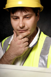 This could be a miner or tradesmen or builder