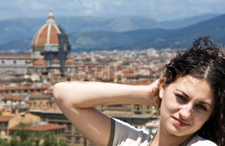 Russian Girl in Florence